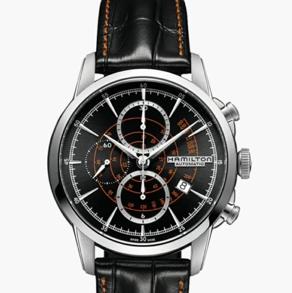 Hamilton Other - Hamilton Classic Railroad Auto Chrono Watch